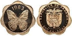 500 Balboa Panamá Oro