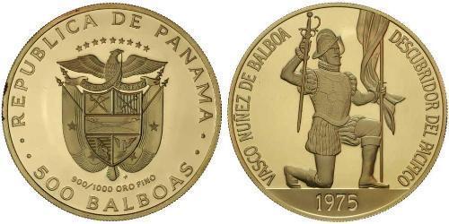 500 Balboa Panamá Oro Vasco Núñez de Balboa (1475 – 1519)