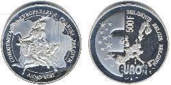 500 Franc Belgium Silver
