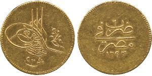500 Kurush Osmanisches Reich (1299-1923) Gold Abdülhamid II (1842 - 1918)
