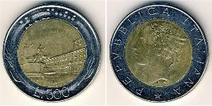 500 Lira Italie Bilame
