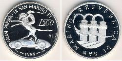 500 Lira San Marino Silver