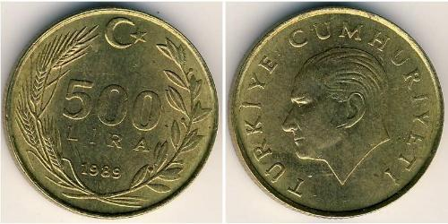 500 Lira Turkey (1923 - )