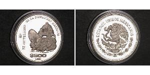 500 Peso México Plata