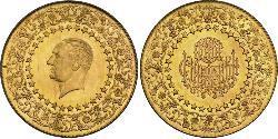 500 Piastre Turchia (1923 - ) Oro Mustafa Kemal Atatürk (1881-1938)