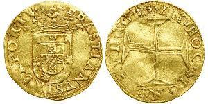 500 Reis Portugal / Kingdom of Portugal (1139-1910) Gold Sebastian of Portugal (1554-1578)