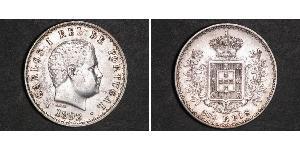500 Reis Reino de Portugal (1139-1910) Plata Carlos I de Portugal (1863-1908)