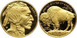 50 Долар США (1776 - ) Золото