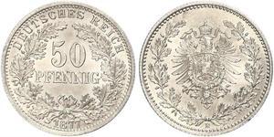 50 Пфенниг Германская империя (1871-1918)