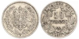 50 Пфеніг Німецька імперія (1871-1918)