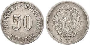 50 Пфеніг Німеччина