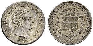 50 Сентесімо Італія Срібло
