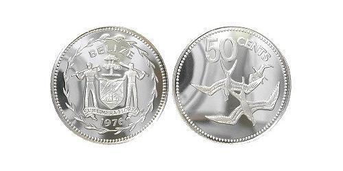 50 Цент Беліз (1981 - ) Срібло