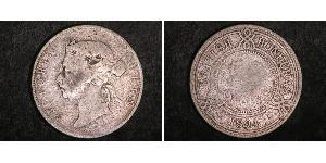 50 Цент Британский Гондурас (1862-1981) Срібло Вікторія (1819 - 1901)