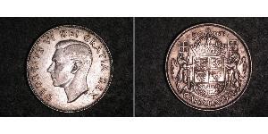 50 Цент Канада Срібло Георг VI (1895-1952)