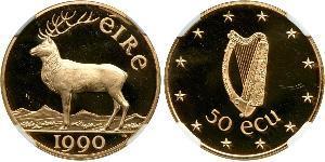 50 Экю Ірландія (1922 - ) Золото