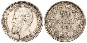 50 Ban Regno di Romania (1881-1947) Argento Carlo I di Romania (1839 - 1914)