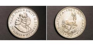 50 Cent Afrique du Sud Argent