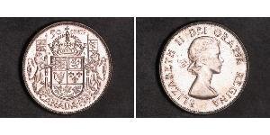 50 Cent Canada Argent Elizabeth II (1926-)