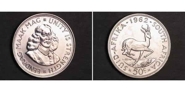 50 Cent Sudafrica Argento