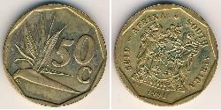 50 Cent South Africa Brass