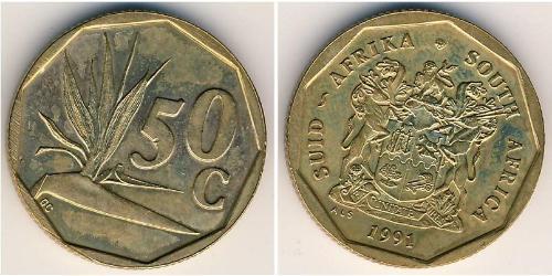 50 Cent South Africa Brass