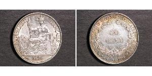 50 Cent French Indochina (1887-1954) Bronze/Nickel