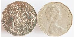 50 Cent Australia (1939 - ) Copper/Nickel