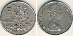 50 Cent New Zealand Copper/Nickel