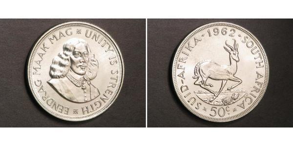 50 Cent Sudáfrica Plata