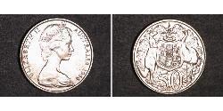 50 Cent Australien (1939 - ) Silber Elizabeth II (1926-)