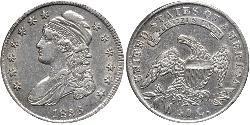 50 Cent Vereinigten Staaten von Amerika (1776 - ) Silber