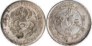 50 Cent Volksrepublik China Silber/Nickel