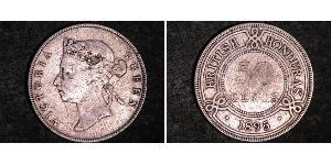 50 Cent British Honduras (1862-1981) Silver Victoria (1819 - 1901)