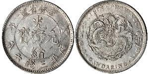 50 Cent China Silver