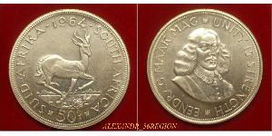 50 Cent South Africa Silver
