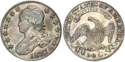 50 Cent USA (1776 - ) Silver