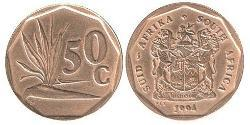 50 Cent South Africa Steel/Brass