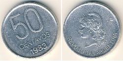 50 Centavo Argentinien (1861 - ) Aluminium