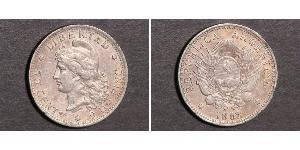 50 Centavo Argentina (1861 - ) Argento
