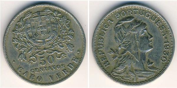 50 Centavo Portugal / Cape Verde (1456 - 1975) Copper/Zinc