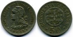 50 Centavo Portuguese Angola (1575-1975) / Portugal Copper/Zinc