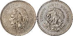 50 Centavo Mexiko (1867 - ) Nickel