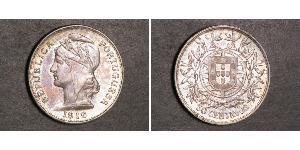 50 Centavo Erste Portugiesische Republik (1910 - 1926) Silber