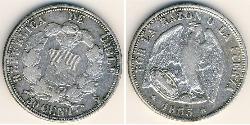 50 Centavo Chile Silver