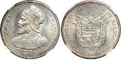 50 Centesimo Panamá Plata Vasco Núñez de Balboa (1475 – 1519)