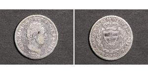50 Centesimo Italien Silber