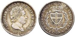 50 Centesimo Italy Silver