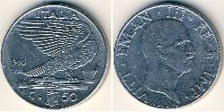 50 Centesimo Kingdom of Italy (1861-1946) Steel