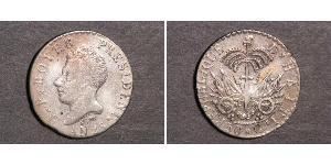 50 Centime Haiti 銀